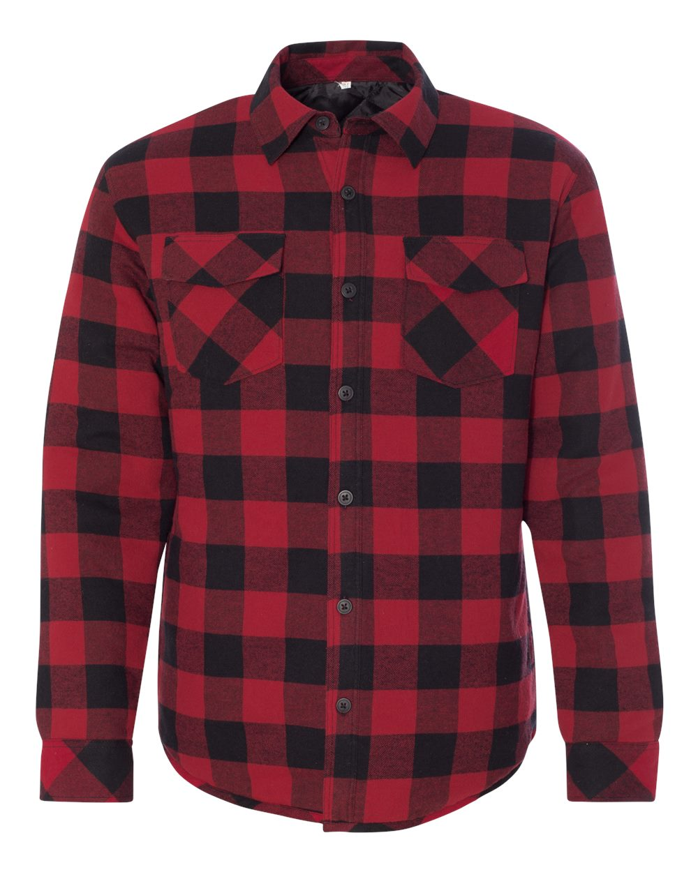 Burnside-Mens-Quilted-Flannel-Jacket-Shirt-8610-up-to-3XL thumbnail 9