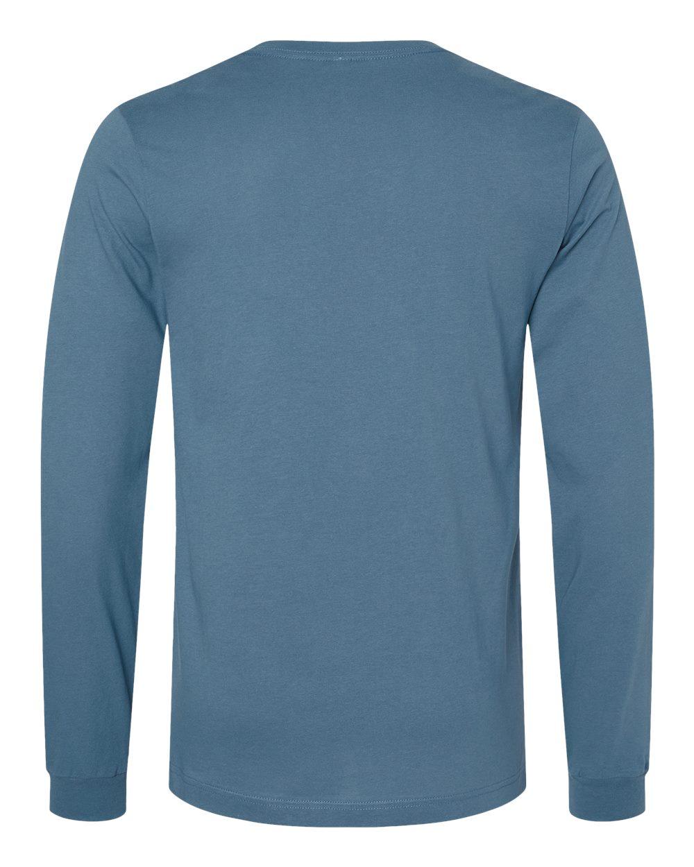 Bella-Canvas-Mens-Blank-Top-Long-Sleeve-Jersey-Tee-T-Shirt-3501-up-to-3XL thumbnail 56