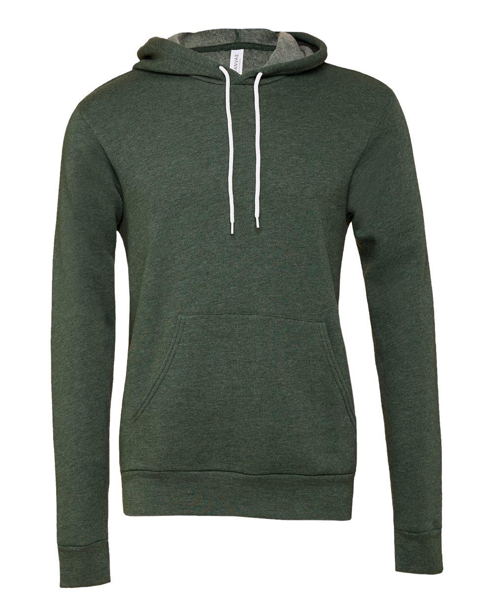 Bella-Canvas-Unisex-Sponge-Hooded-Pullover-Sweatshirt-Blank-3719-up-to-2XL thumbnail 44