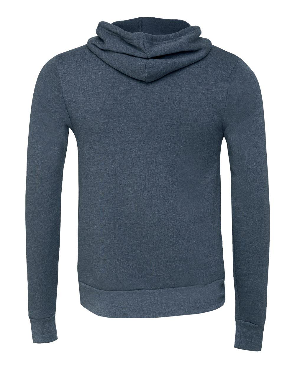 Bella-Canvas-Unisex-Sponge-Hooded-Pullover-Sweatshirt-Blank-3719-up-to-2XL thumbnail 53