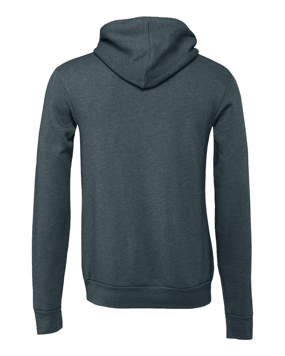 Bella-Canvas-Unisex-Sponge-Hooded-Pullover-Sweatshirt-Blank-3719-up-to-2XL thumbnail 61