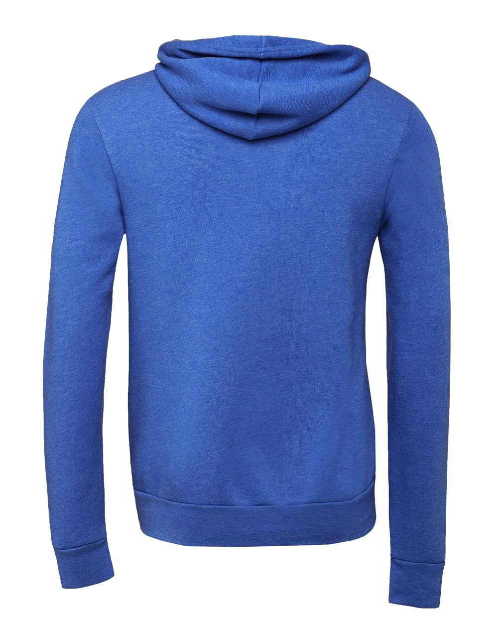 Bella-Canvas-Unisex-Sponge-Hooded-Pullover-Sweatshirt-Blank-3719-up-to-2XL thumbnail 64