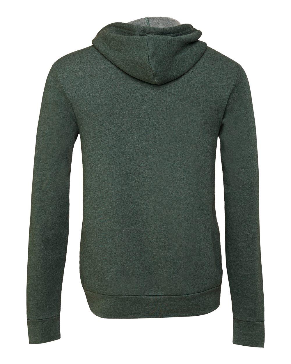 Bella-Canvas-Unisex-Full-Zip-Up-Hooded-Sweatshirt-Blank-Hoodie-3739-up-to-3XL thumbnail 39