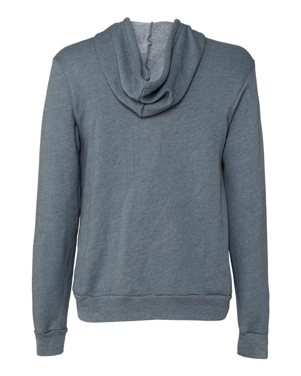Bella-Canvas-Unisex-Full-Zip-Up-Hooded-Sweatshirt-Blank-Hoodie-3739-up-to-3XL thumbnail 55