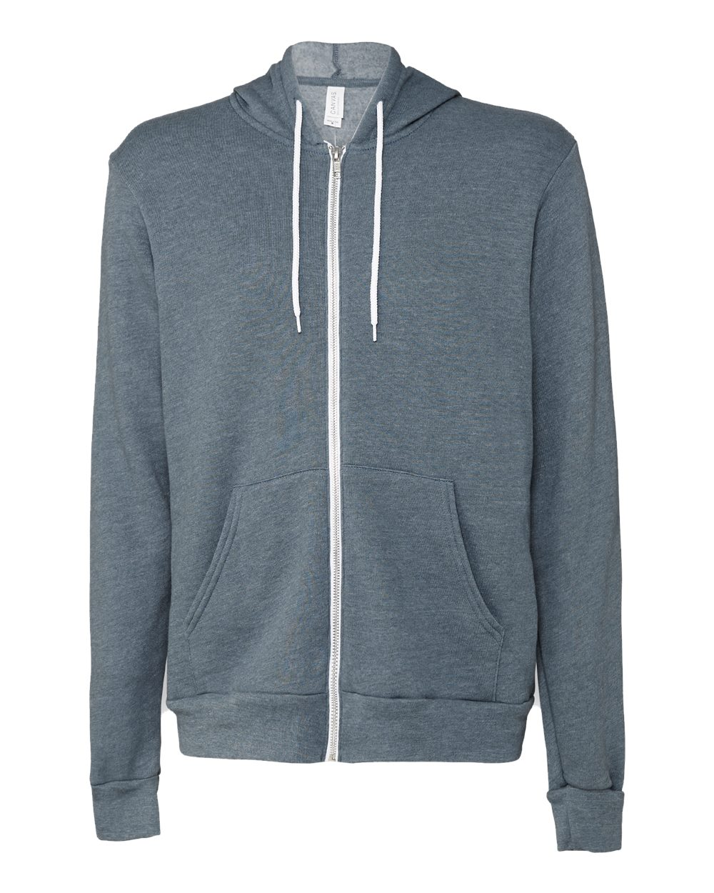 Bella-Canvas-Unisex-Full-Zip-Up-Hooded-Sweatshirt-Blank-Hoodie-3739-up-to-3XL thumbnail 54