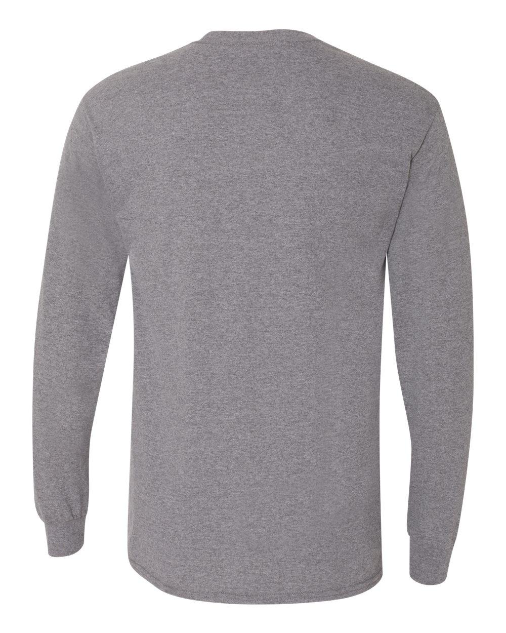 Gildan-Mens-Blank-DryBlend-50-50-Cotton-Long-Sleeve-T-Shirt-8400-up-to-3XL miniature 22