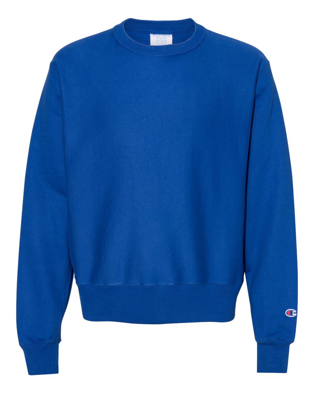 Champion-Mens-Reverse-Weave-Crewneck-Sweatshirt-Blank-Solid-S149-up-to-3XL thumbnail 6