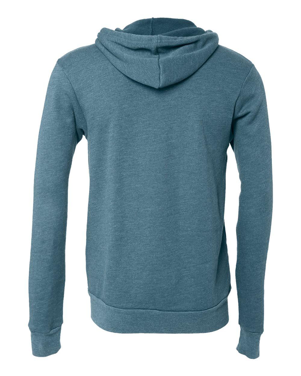 Bella-Canvas-Unisex-Full-Zip-Up-Hooded-Sweatshirt-Blank-Hoodie-3739-up-to-3XL thumbnail 36