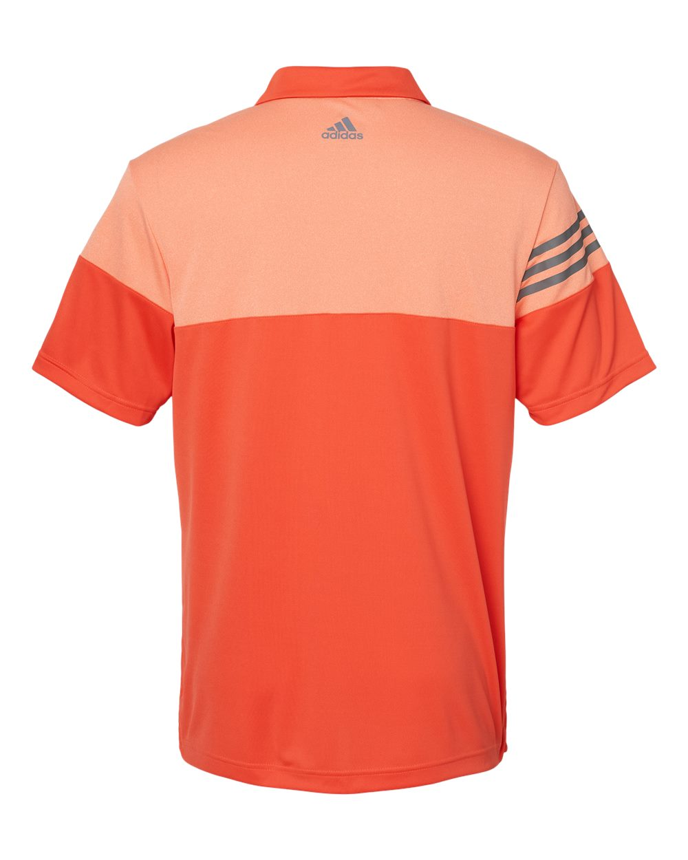 Adidas-Heather-3-Stripes-Block-Sport-Shirt-Polo-Button-A213-up-to-3XL thumbnail 10