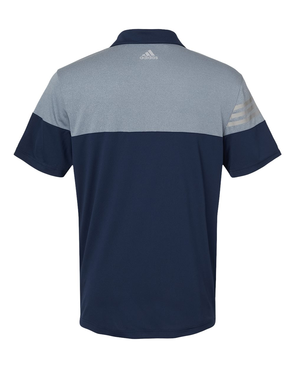 Adidas-Heather-3-Stripes-Block-Sport-Shirt-Polo-Button-A213-up-to-3XL thumbnail 16