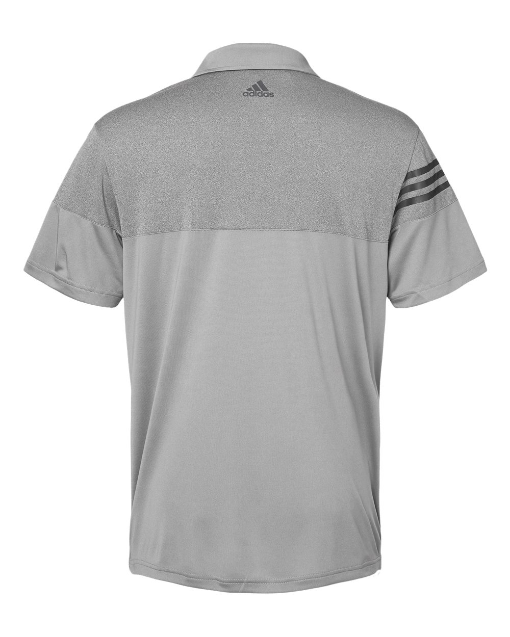 Adidas-Heather-3-Stripes-Block-Sport-Shirt-Polo-Button-A213-up-to-3XL thumbnail 22