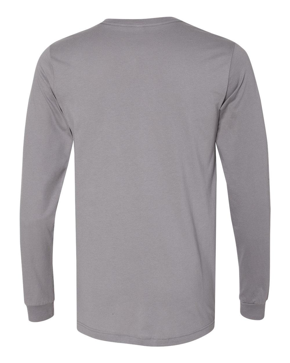 Bella-Canvas-Mens-Blank-Top-Long-Sleeve-Jersey-Tee-T-Shirt-3501-up-to-3XL thumbnail 108