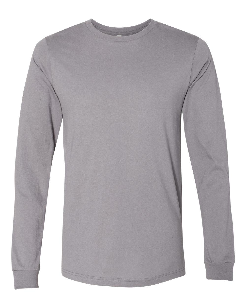 Bella-Canvas-Mens-Blank-Top-Long-Sleeve-Jersey-Tee-T-Shirt-3501-up-to-3XL thumbnail 107