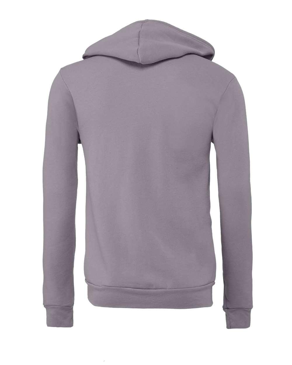 Bella-Canvas-Unisex-Full-Zip-Up-Hooded-Sweatshirt-Blank-Hoodie-3739-up-to-3XL thumbnail 81