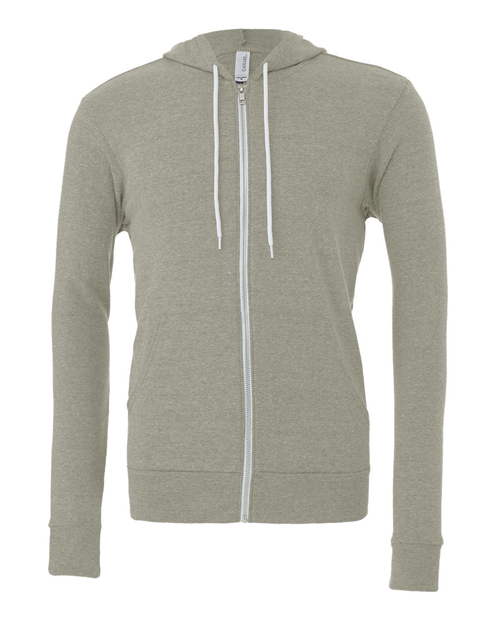 Bella-Canvas-Unisex-Full-Zip-Up-Hooded-Sweatshirt-Blank-Hoodie-3739-up-to-3XL thumbnail 57