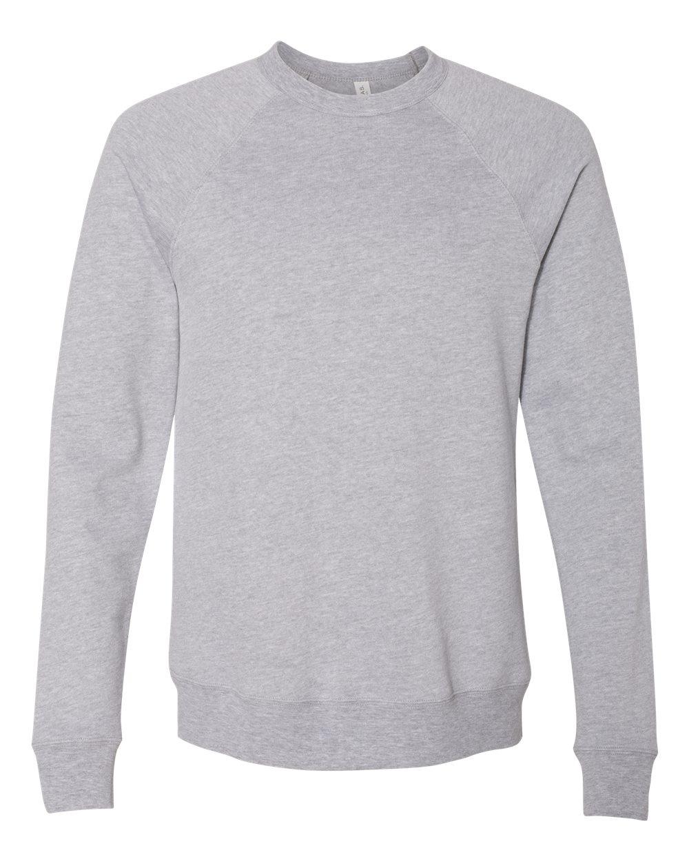 Bella-Canvas-Unisex-Sponge-Fleece-Crewneck-Sweatshirt-Top-Blank-3901-up-to-2XL thumbnail 8