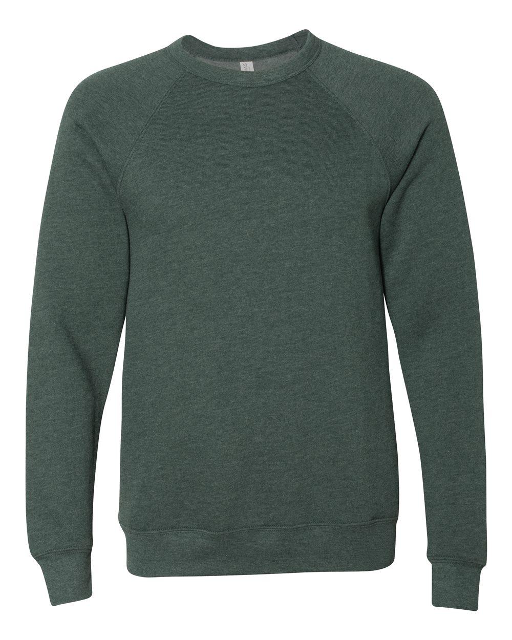 Bella-Canvas-Unisex-Sponge-Fleece-Crewneck-Sweatshirt-Top-Blank-3901-up-to-2XL thumbnail 35