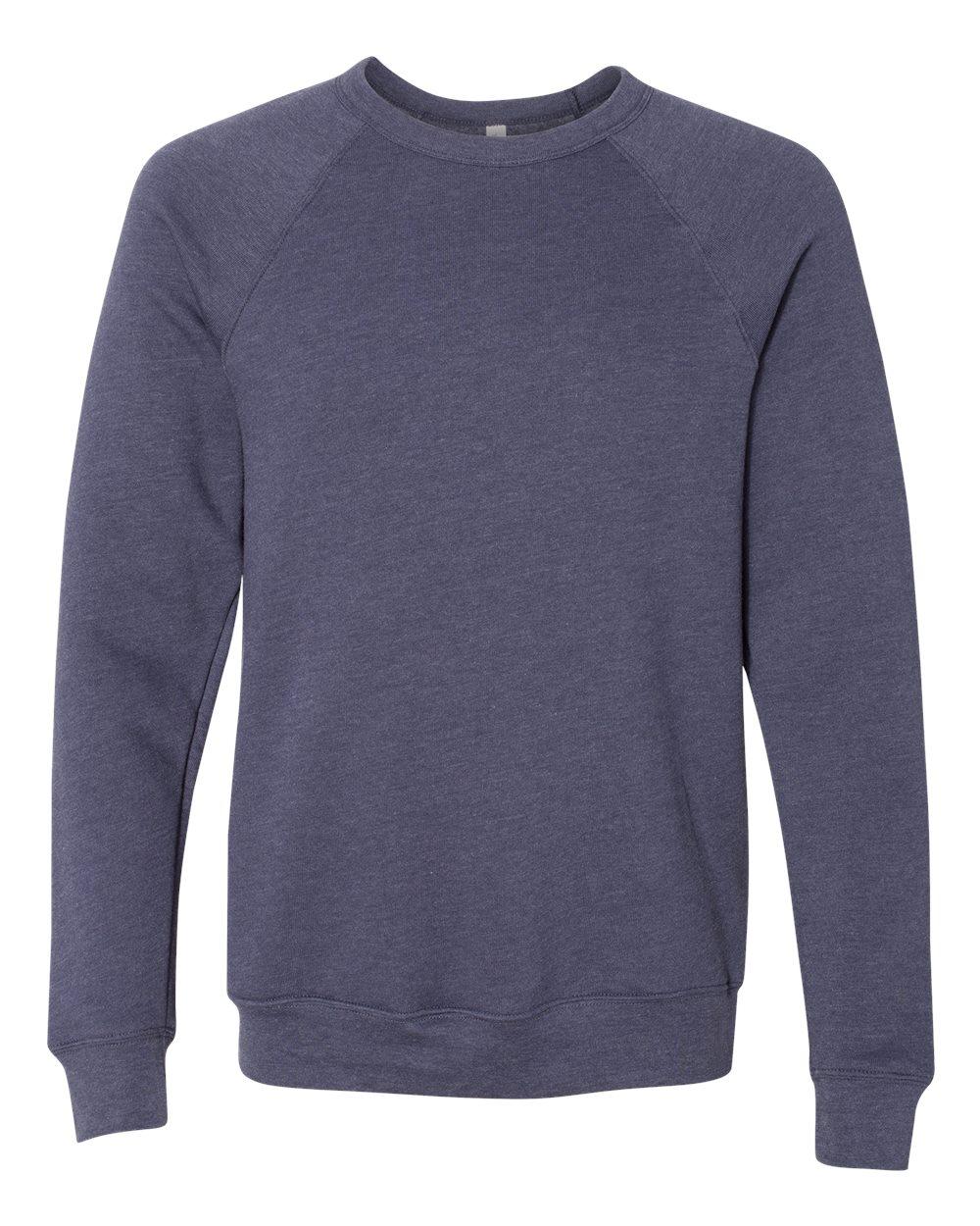 Bella-Canvas-Unisex-Sponge-Fleece-Crewneck-Sweatshirt-Top-Blank-3901-up-to-2XL thumbnail 40