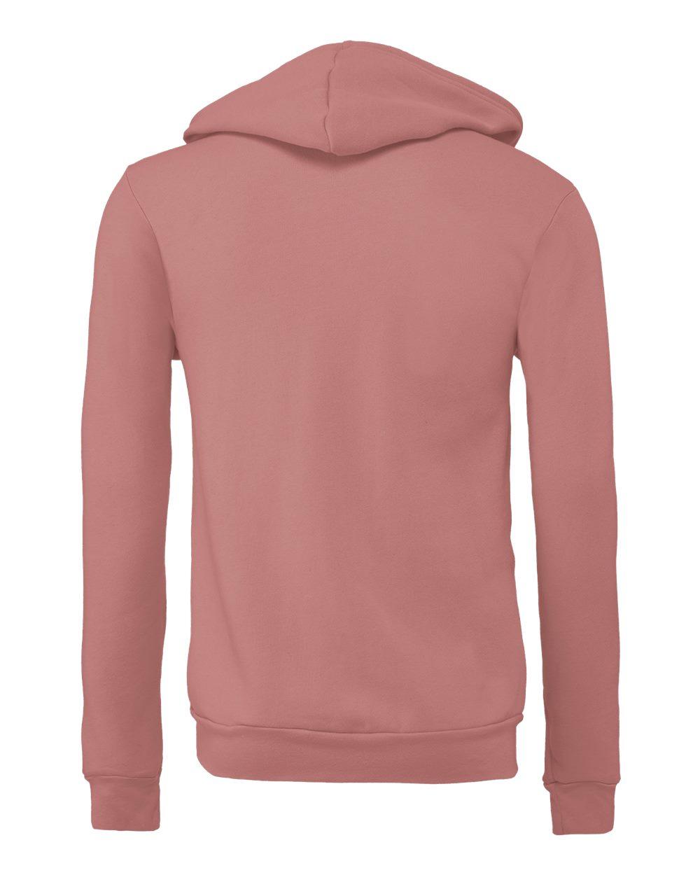 Bella-Canvas-Unisex-Full-Zip-Up-Hooded-Sweatshirt-Blank-Hoodie-3739-up-to-3XL thumbnail 69