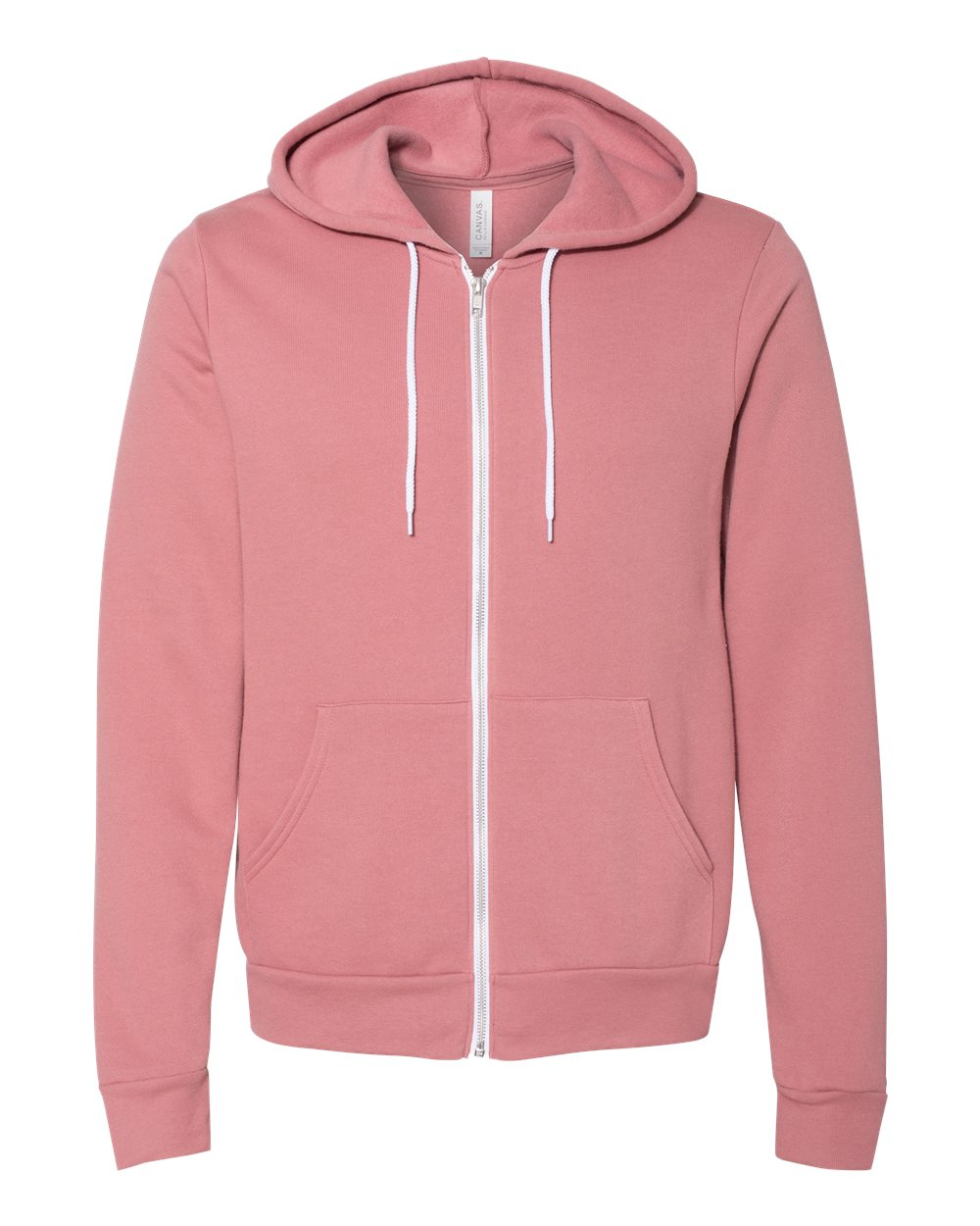 Bella-Canvas-Unisex-Full-Zip-Up-Hooded-Sweatshirt-Blank-Hoodie-3739-up-to-3XL thumbnail 68
