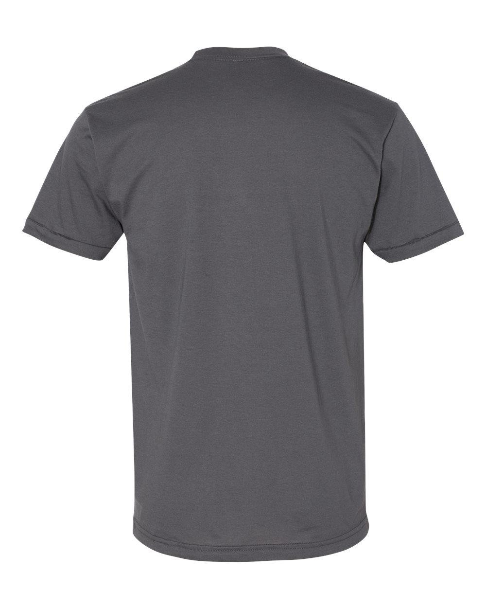 American-Apparel-Mens-Slim-Fit-50-50-Cotton-T-Shirt-Tee-BB401W-up-to-2XL thumbnail 7