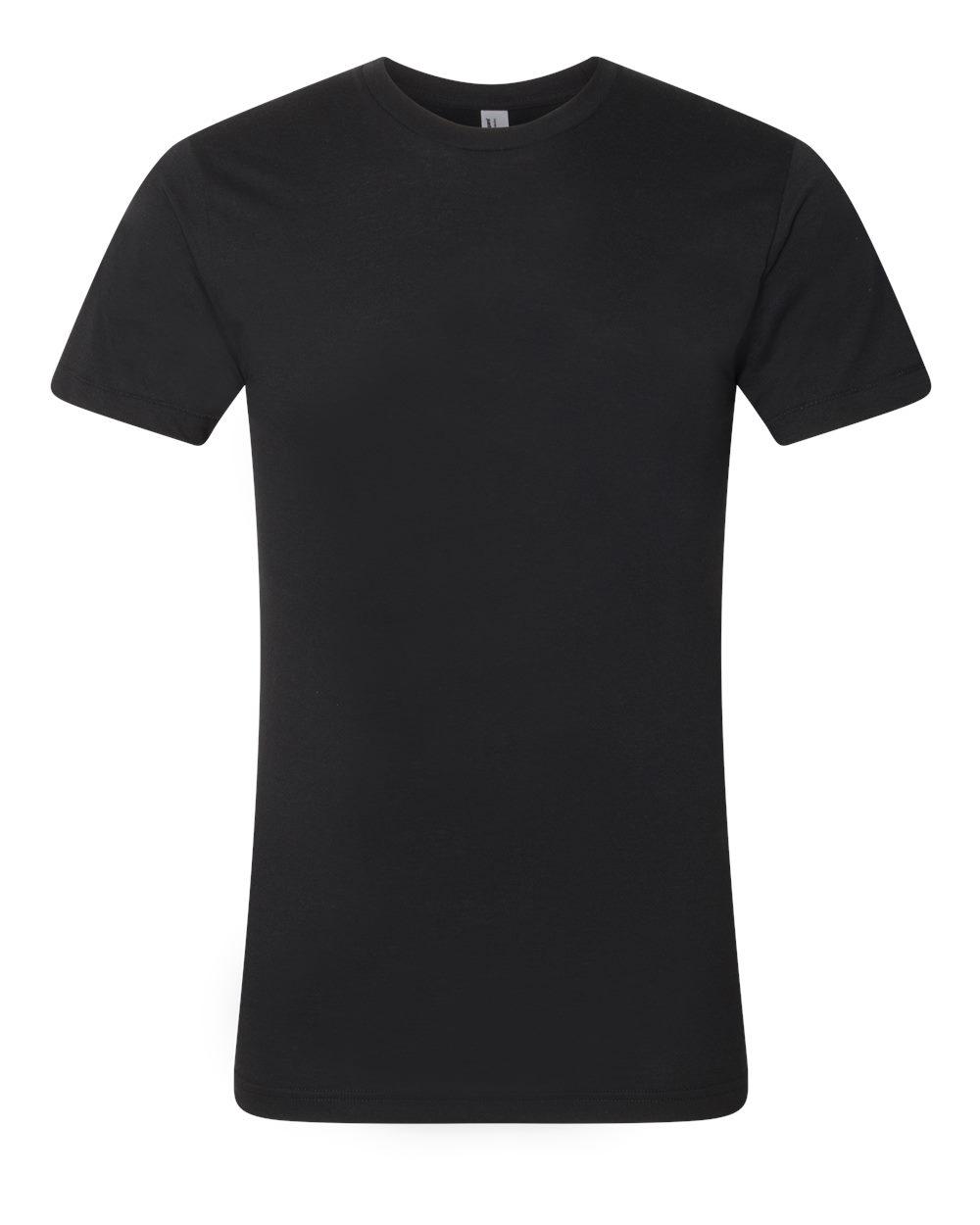 American-Apparel-Mens-Slim-Fit-50-50-Cotton-T-Shirt-Tee-BB401W-up-to-2XL thumbnail 9