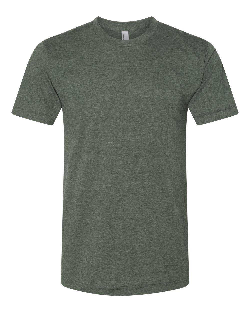 American-Apparel-Mens-Slim-Fit-50-50-Cotton-T-Shirt-Tee-BB401W-up-to-2XL thumbnail 18