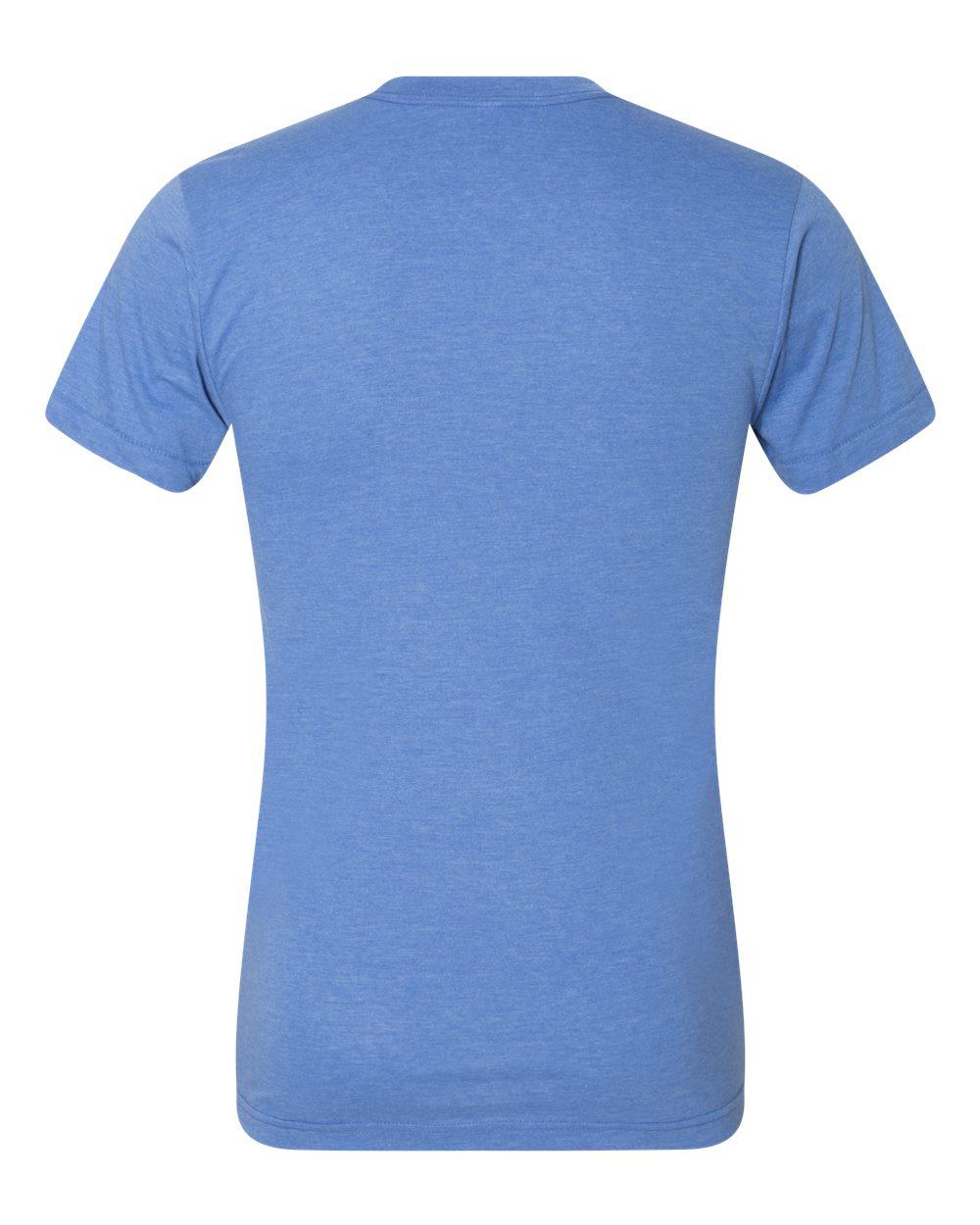 American-Apparel-Mens-Slim-Fit-50-50-Cotton-T-Shirt-Tee-BB401W-up-to-2XL thumbnail 28