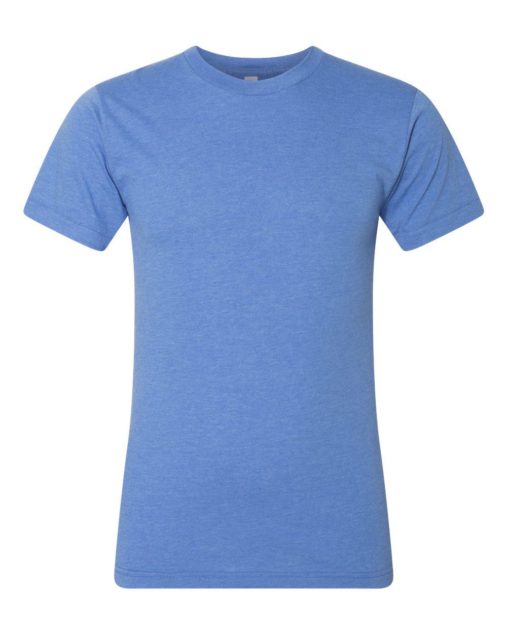 American-Apparel-Mens-Slim-Fit-50-50-Cotton-T-Shirt-Tee-BB401W-up-to-2XL thumbnail 27