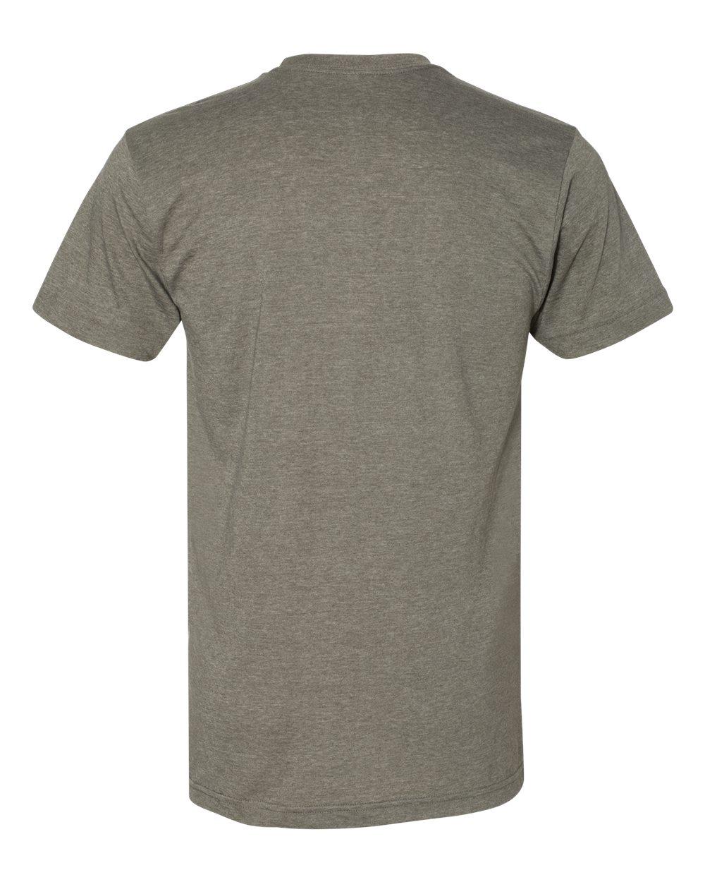 American-Apparel-Mens-Slim-Fit-50-50-Cotton-T-Shirt-Tee-BB401W-up-to-2XL thumbnail 31
