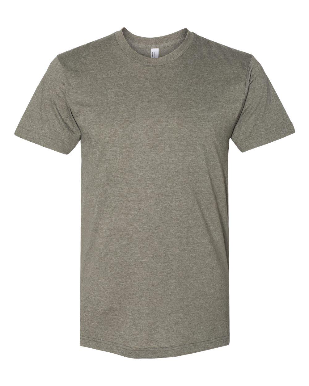 American-Apparel-Mens-Slim-Fit-50-50-Cotton-T-Shirt-Tee-BB401W-up-to-2XL thumbnail 30