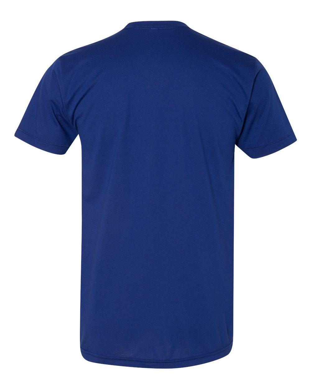 American-Apparel-Mens-Slim-Fit-50-50-Cotton-T-Shirt-Tee-BB401W-up-to-2XL thumbnail 40