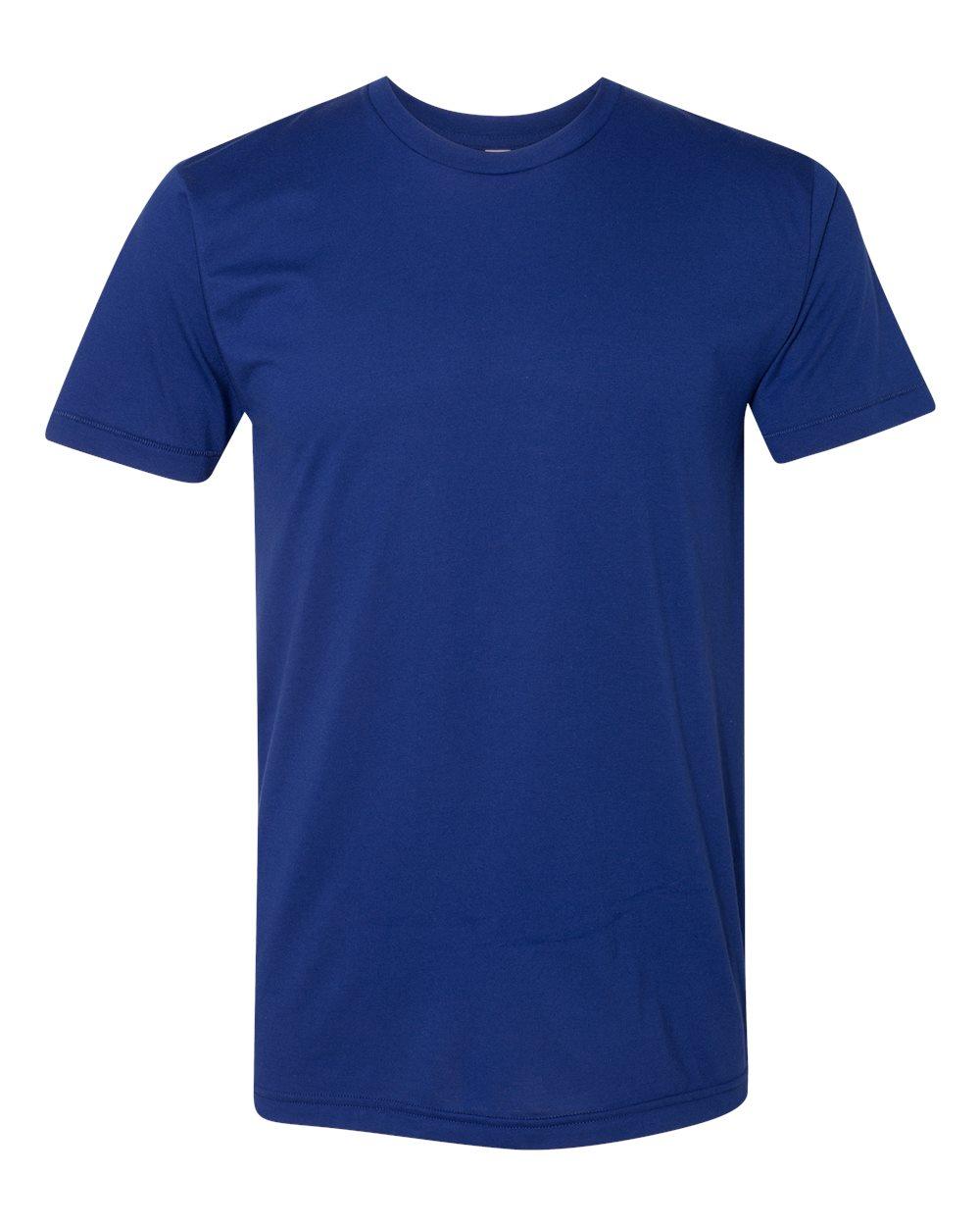 American-Apparel-Mens-Slim-Fit-50-50-Cotton-T-Shirt-Tee-BB401W-up-to-2XL thumbnail 39