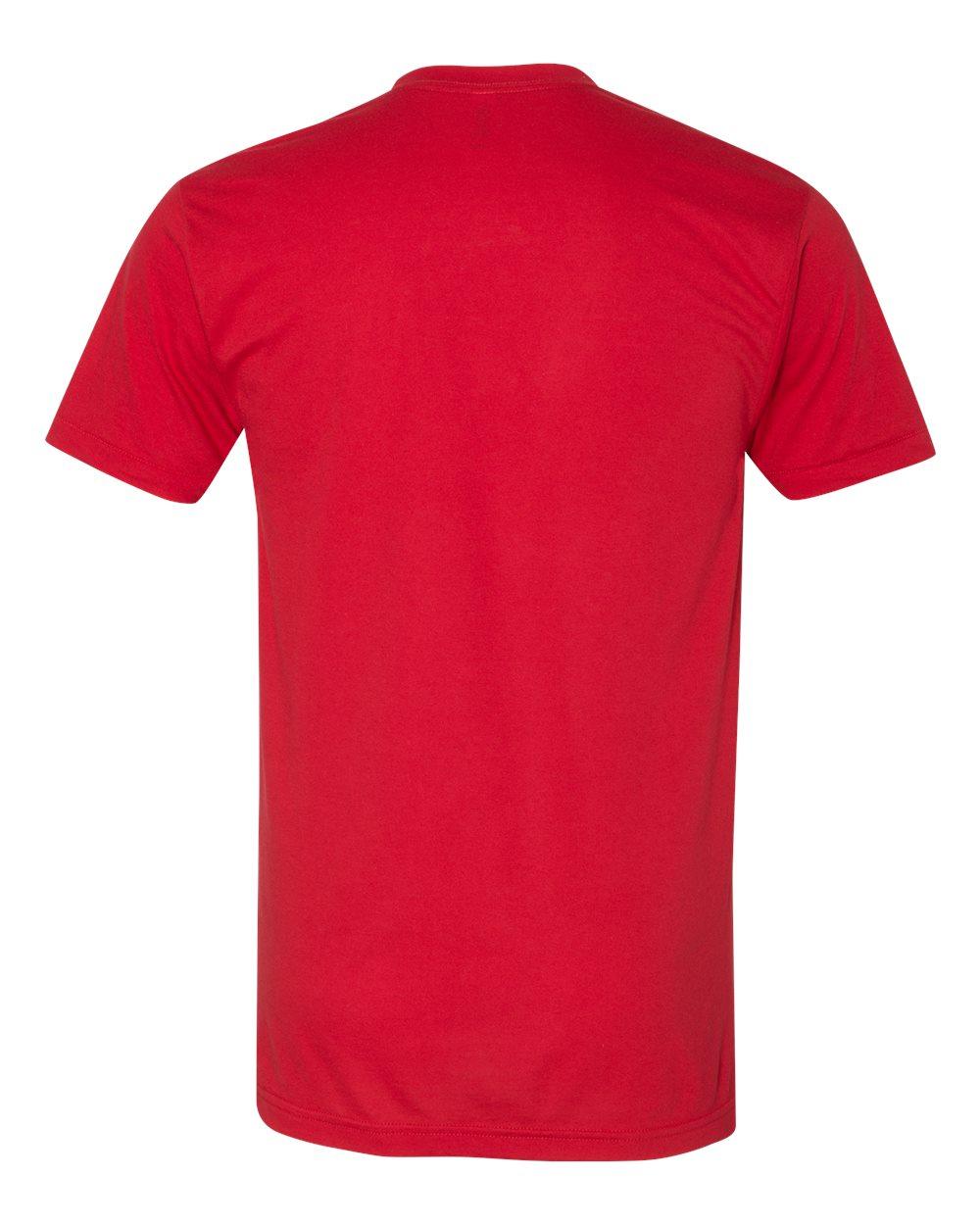 American-Apparel-Mens-Slim-Fit-50-50-Cotton-T-Shirt-Tee-BB401W-up-to-2XL thumbnail 49