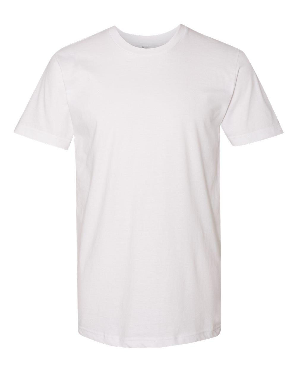 American-Apparel-Mens-Slim-Fit-50-50-Cotton-T-Shirt-Tee-BB401W-up-to-2XL thumbnail 51