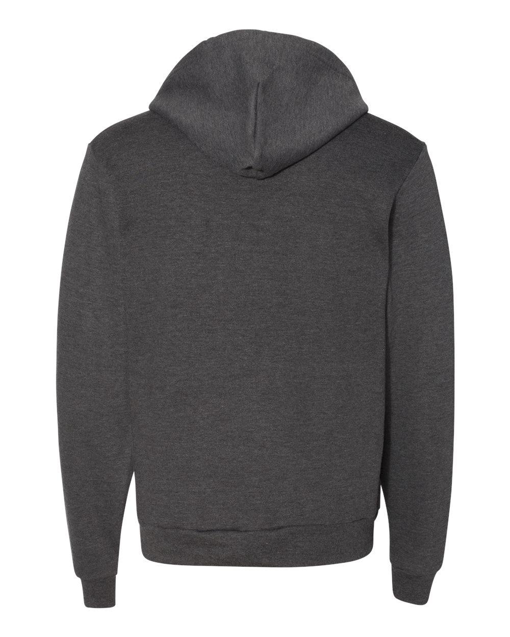 American-Apparel-Flex-Fleece-Unisex-Full-Zip-Hoodie-Blank-F497W-up-to-3XL thumbnail 10