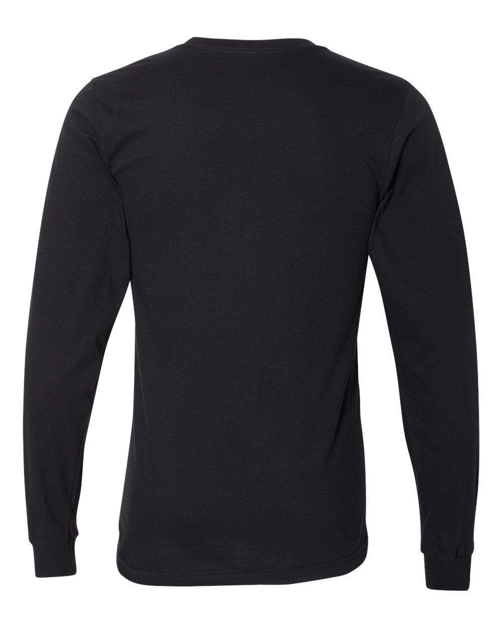 American Apparel Mens Fine Jersey Long Sleeve Tee T Shirt Blank 2007W up to 2XL