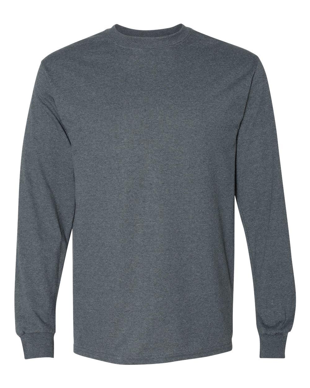 Gildan-Mens-Blank-DryBlend-50-50-Cotton-Long-Sleeve-T-Shirt-8400-up-to-3XL miniature 15