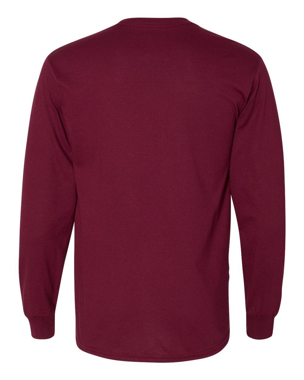 Gildan-Mens-Blank-DryBlend-50-50-Cotton-Long-Sleeve-T-Shirt-8400-up-to-3XL miniature 25