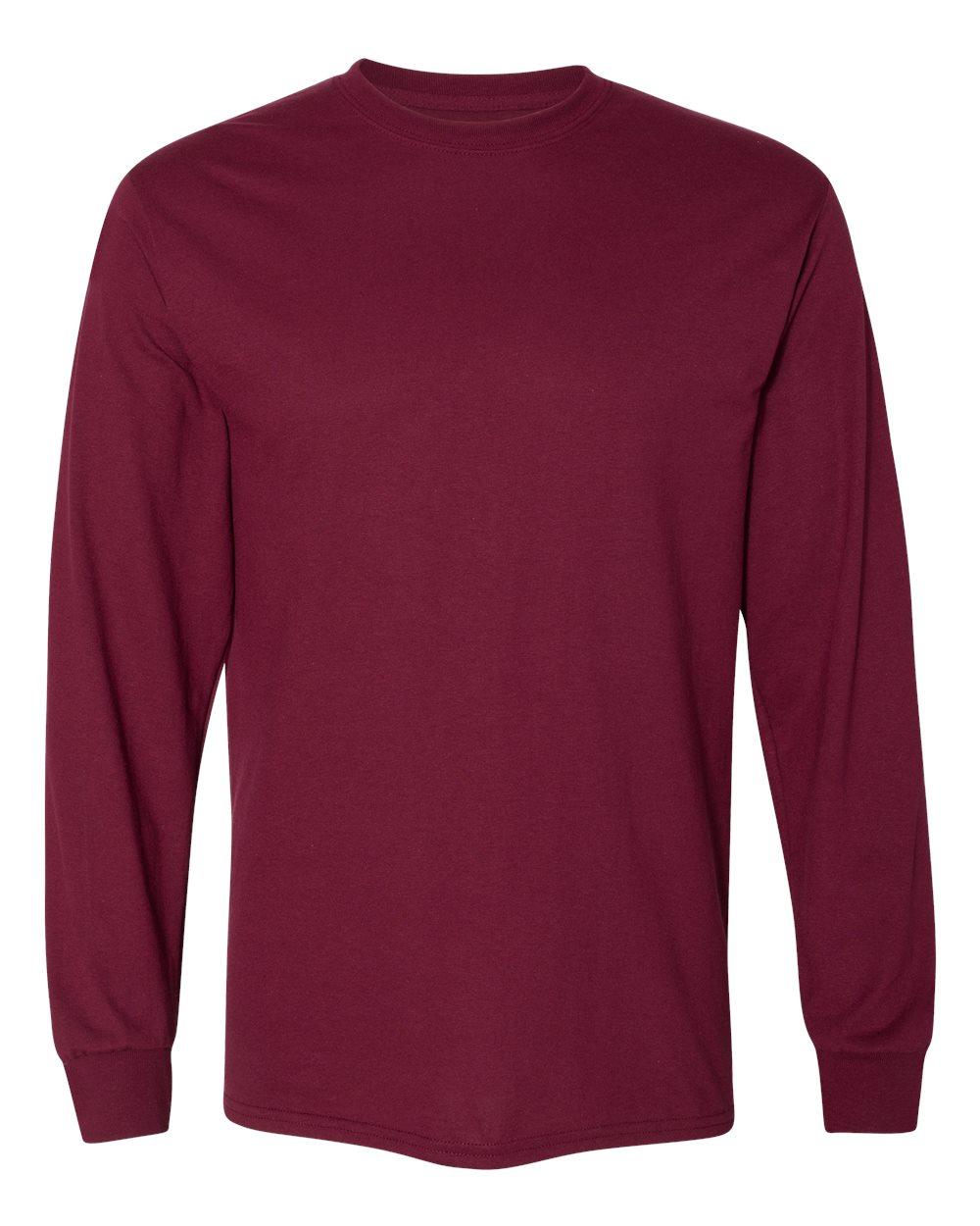 Gildan-Mens-Blank-DryBlend-50-50-Cotton-Long-Sleeve-T-Shirt-8400-up-to-3XL miniature 24