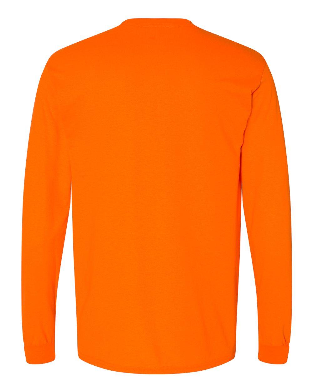 Gildan-Mens-Blank-DryBlend-50-50-Cotton-Long-Sleeve-T-Shirt-8400-up-to-3XL miniature 43