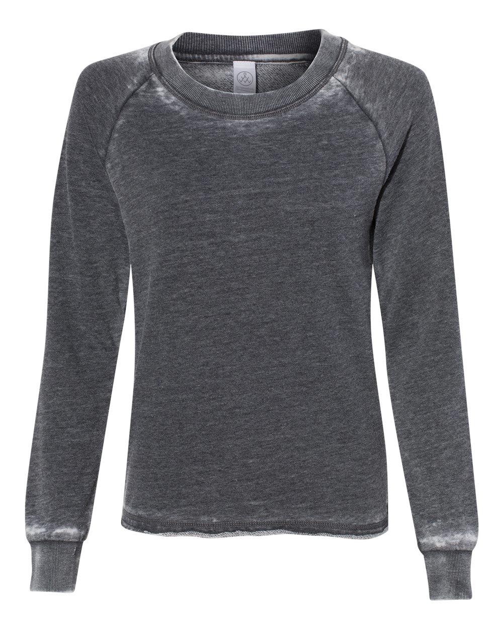 Alternative-Women-s-Lazy-Day-Burnout-French-Terry-LightSweatshirt-8626-up-to-XL thumbnail 15