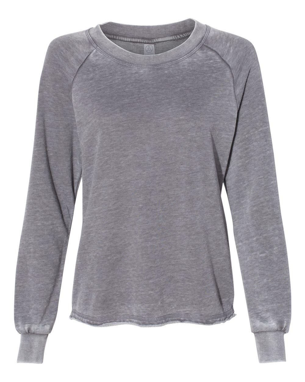 Alternative-Women-s-Lazy-Day-Burnout-French-Terry-LightSweatshirt-8626-up-to-XL thumbnail 9