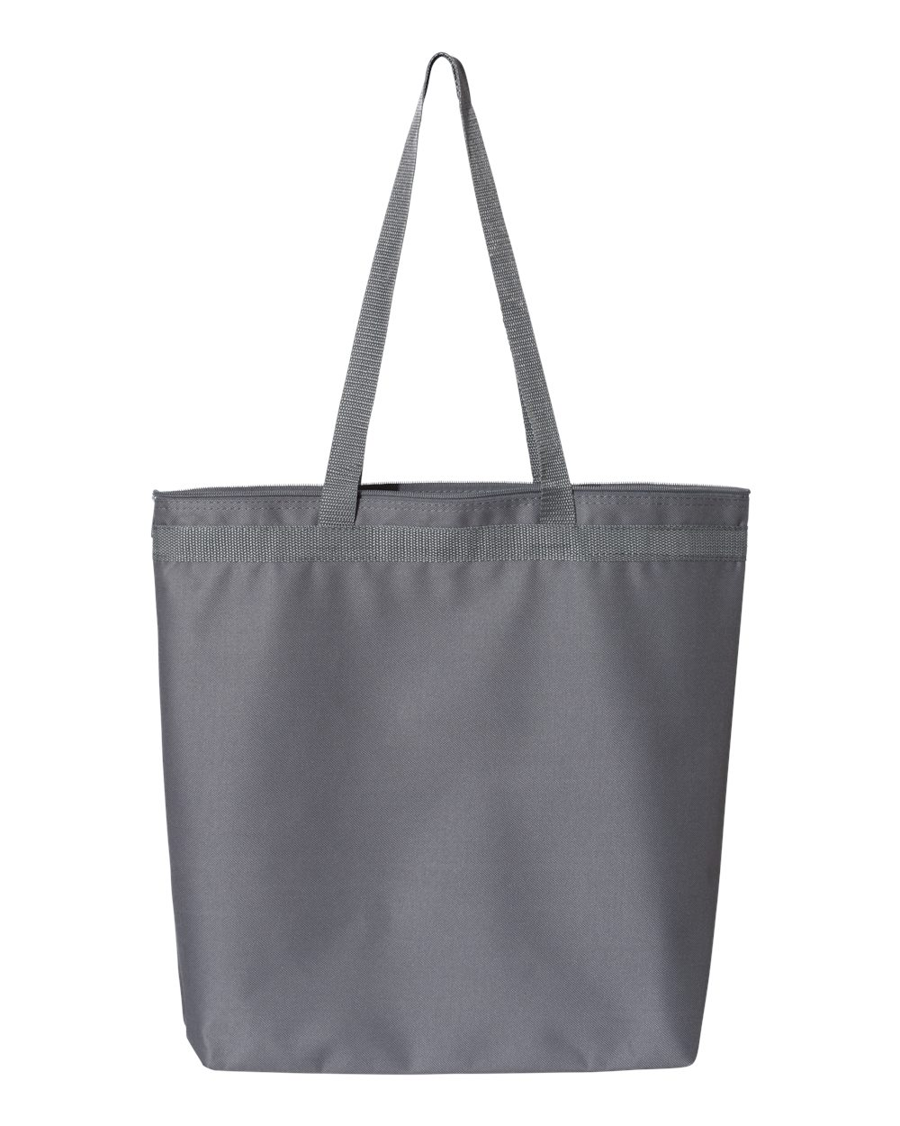 """18/"""" x 16/"""" x 4 1//2/"""" Liberty Bags Recycled Zipper Tote Shopping Bag  8802 Size"""