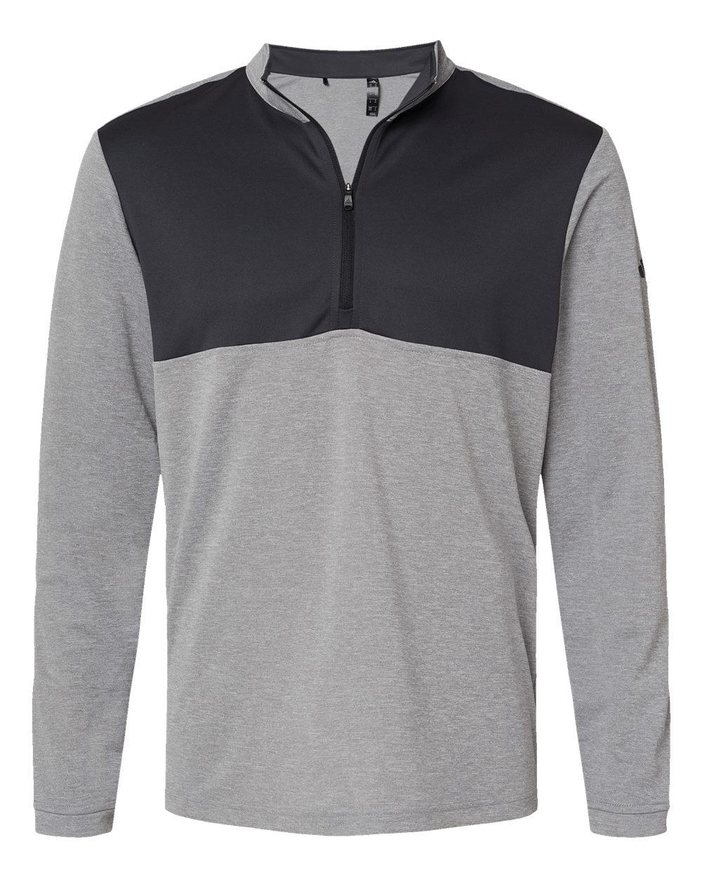 Adidas-Mens-Lightweight-UPF-pullover-Shirt-Warmup-A280-up-to-4XL thumbnail 15