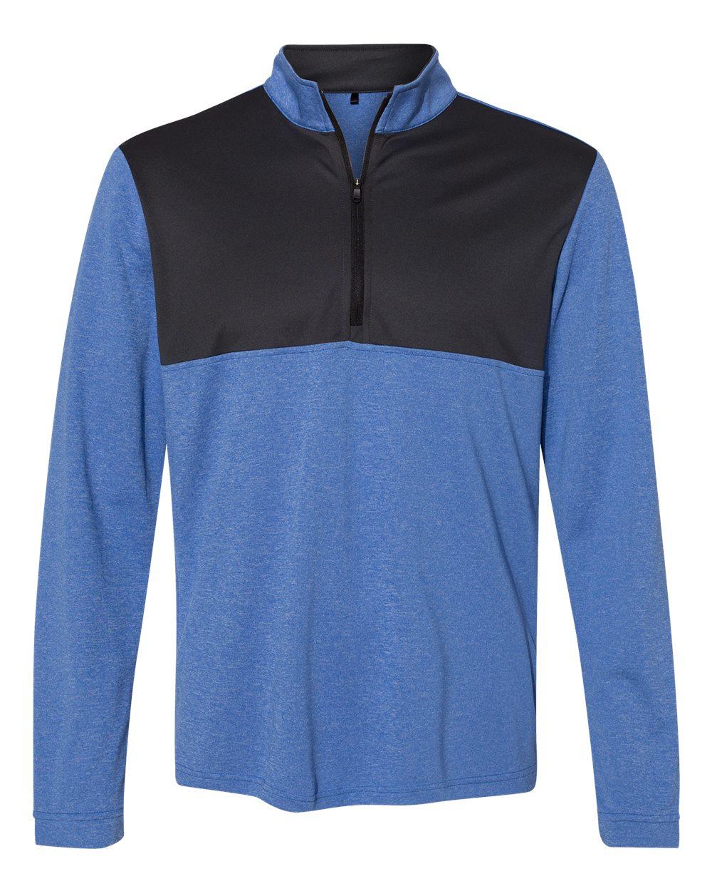 Adidas-Mens-Lightweight-UPF-pullover-Shirt-Warmup-A280-up-to-4XL thumbnail 12