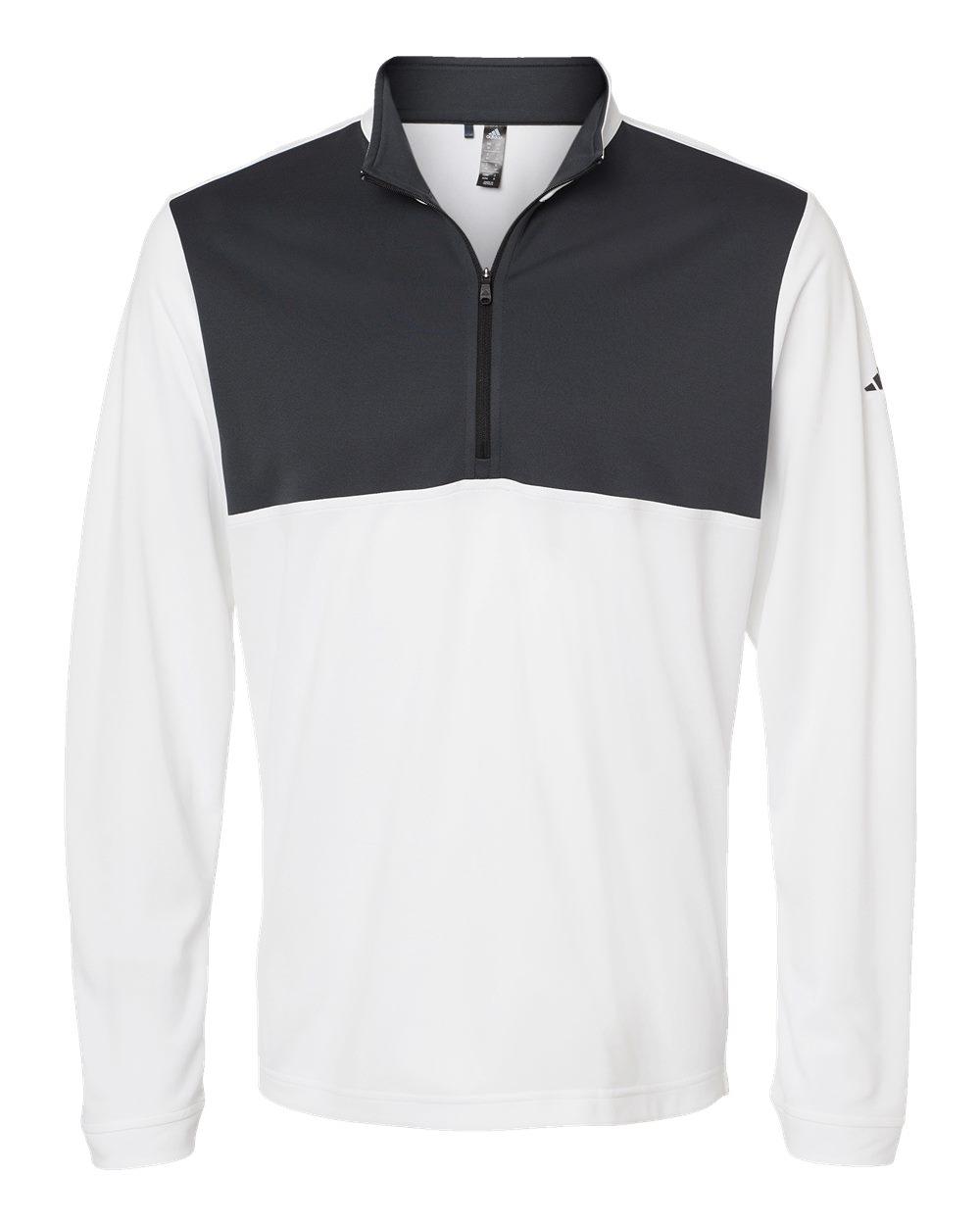 Adidas-Mens-Lightweight-UPF-pullover-Shirt-Warmup-A280-up-to-4XL thumbnail 21