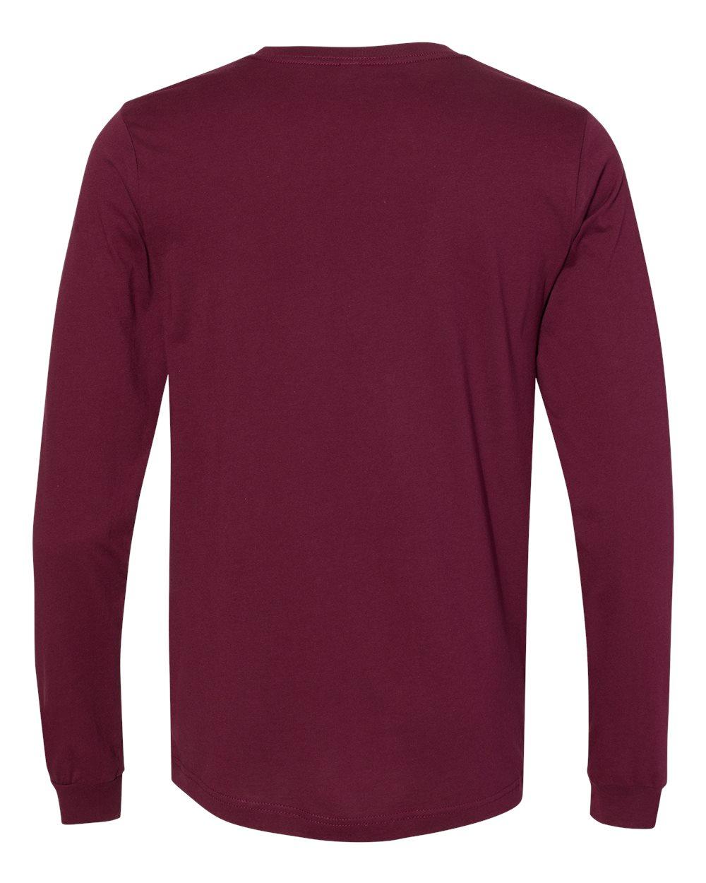Bella-Canvas-Mens-Blank-Top-Long-Sleeve-Jersey-Tee-T-Shirt-3501-up-to-3XL thumbnail 77