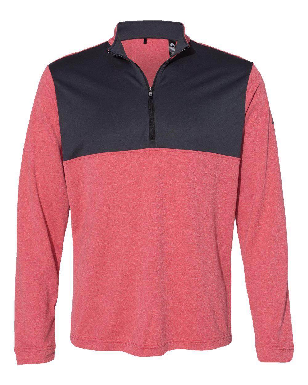 Adidas-Mens-Lightweight-UPF-pullover-Shirt-Warmup-A280-up-to-4XL thumbnail 18