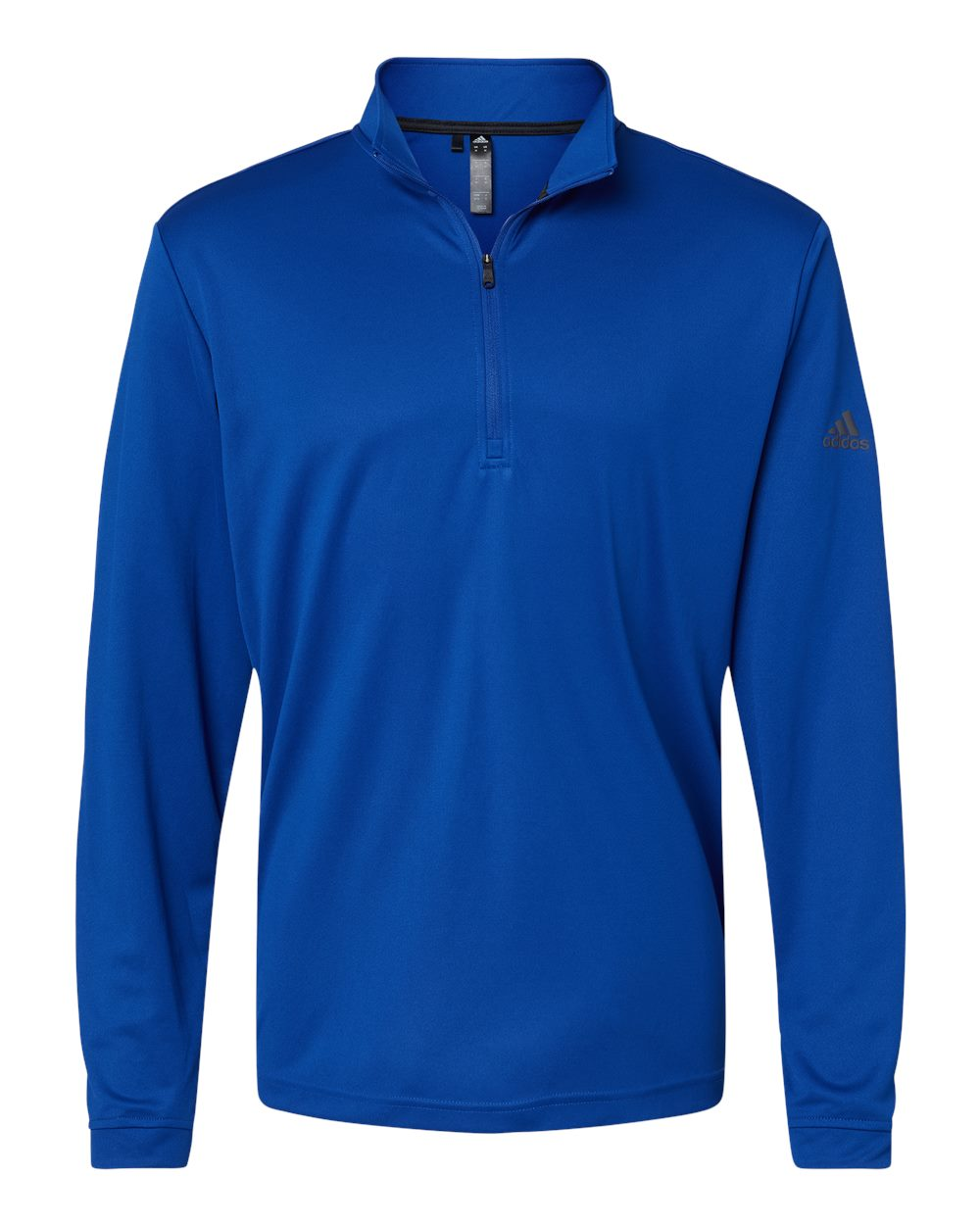 Adidas-Mens-Lightweight-Quarter-Zip-Pullover-Shirt-polyester-A401-up-to-4XL miniature 15